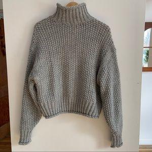H&M oversized wool blend sweater